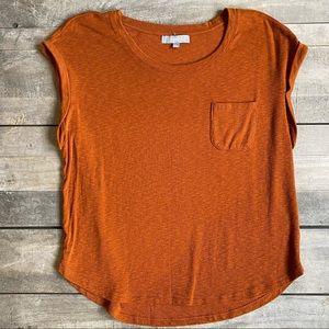 Marled Sweater Tee